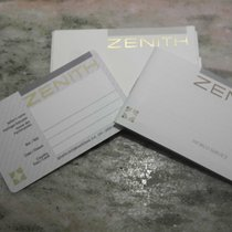 Zenith vintage warranty card and booklet service newoldstock