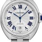 Cartier CLÉ DE CARTIER WJCL0008 NEW WHITE GOLD 18CT 40MM