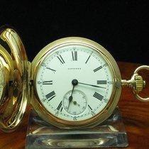 Longines 18kt Gold Savonette Sprungdeckel Taschenuhr Von Ca....