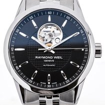 Raymond Weil Freelancer Automatic 42 Black Dial Guilloche