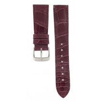 Rolex Hirsch Purple Crocodile Strap 20mm