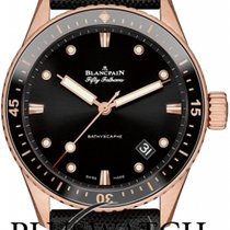 Blancpain Fifty Fathoms Bathyscaphe Ceramic Insert 43mm T