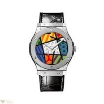 Hublot Classic Fusion Manual Extra-thin Platinium Men's Watch