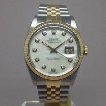Rolex Datejust 16013 Mop Diamond Dial