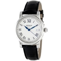 Montblanc Montblacn Star Date Silver Dial 107114