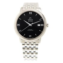 Omega De Ville Stainless Steel Black Automatic 424.10.40.20.01...