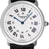 Cartier W1528051 Ronde Solo De Cartier in Platinum - Extra...