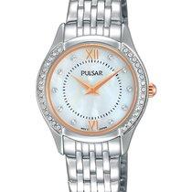 Pulsar Womens Watch - Bracelet - Crystals - Pink Gold Tone...