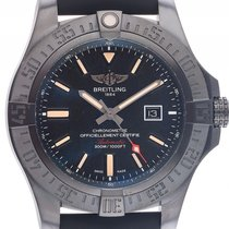 Breitling Avenger Blackbird Titan Automatik Armband Kautschuk...