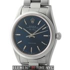 Rolex Air-King Precision Steel 34mm Blue Index Dial F Serial...