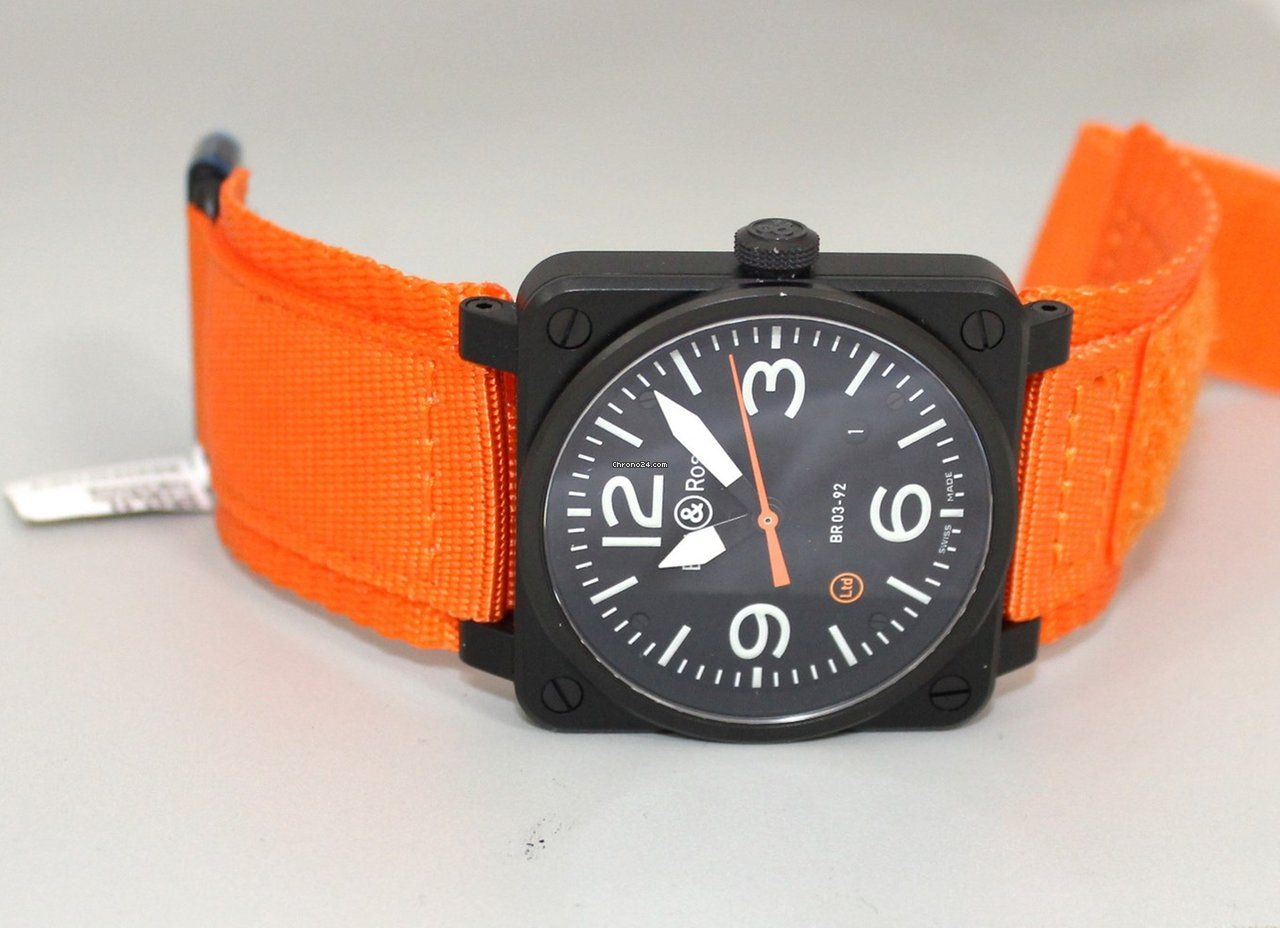 Bell amp Ross BR Orange Limited Edition to pcs for for sale from a Trusted Seller