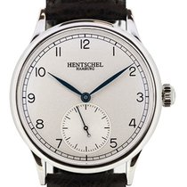 Hentschel Hamburg H1 Chronometer White Gold / Steel, 34.5mm