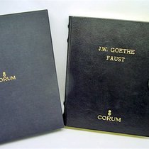 """Corum Uhrenbox zum Modell """"Golden Book"""" J.W. Goethe Faust"""