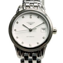 Longines Flagship Stainless Steel White Automatic L4.274.4.27.6