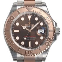 Rolex Yacht-Master Steel and 18k Rose Gold Men's Watch 116621
