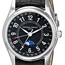 Frederique Constant Moontimer Automatic Steel Mens Strap Watch...