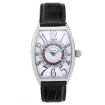 Franck Muller Vegas Men's 18k White Gold Roulette-Wheel...