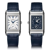 Jaeger-LeCoultre Reverso Tribute Duoface Blue & Silver...