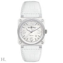 Bell & Ross BR 03 White Ceramic Diamonds