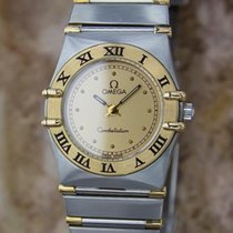 Omega Constellation Ladies 18k Gold & Stainless Steel...