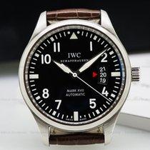 IWC IW326501 Mark XVII Black Dial SS / Alligator (25915)