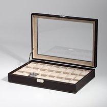 Rothenschild Uhren Sammelkiste RS-1123-24DBR fuer 24 Uhren brown