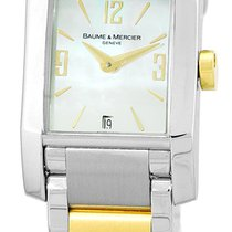 Baume & Mercier Lady's Stainless Steel & 18K...
