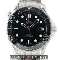 Omega Seamaster Diver 300m Co-Axial 41mm Black Dial Automatic ...