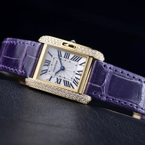 Cartier- Tank Anglaise Kleines Modell, Ref.  WT100014