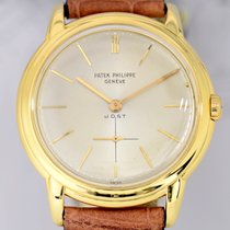 Patek Philippe Calatrava 18k Vintage Gold-Rotor small second...