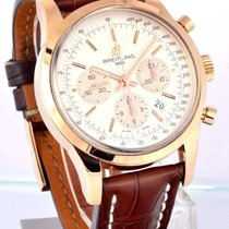 Breitling Transocean Chronograph RB0152/G738  18k Rose Gold