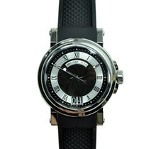 Breguet Marine Stainless Steel Black Automatic 5817ST/92/5V8