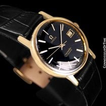 Omega 1975 Vintage Seamaster Mens Watch, Automatic, Date - 18K...