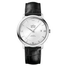 Omega De Ville Steel Silver Dial Mens Watch 424.13.40.20.02.00...
