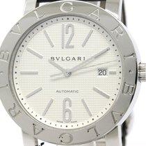 Bulgari Polished  - Steel Automatic Mens Watch Bb42sl Auto...