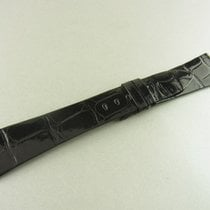 Rolex Krokoleder Armband Schwarz 21/16 Mm Alligator Leather...