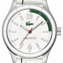 Lacoste Sydney Steel Unisex Fashion Watch White & Green...