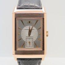 Jaeger-LeCoultre Reverso 18k Rose Gold Art Deco Rare Dial...