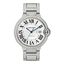 Cartier WE902006 Ballon Bleu 42mm Automatic in White Gold with...
