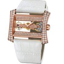 Corum Golden Bridge Lady 113.353.85/0089 0019R Diamond Watch