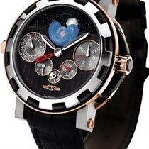 Dewitt Academia Quantieme Perpetual GMT Nebula Men's Watch