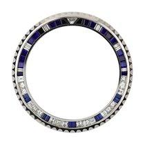 Rolex GMT-Master II Steel Diamond Sapphire Precious Stone Bezel