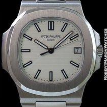 Patek Philippe 5711 Jumbo Nautilus White Dial Steel