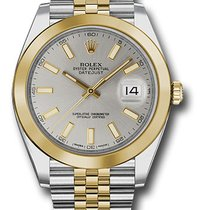 Rolex Watches: 126303 sij Datejust 41 Steel and Yelow Gold -