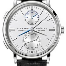 A. Lange & Söhne Saxonia Dual Time 38.5mm Mens Watch
