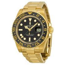 Rolex GMT Master II 18K Yellow Gold Rolex Oyster Automatic...