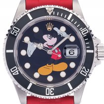 Rolex Submariner Date Custom Mickey Mouse Stahl Automatik...