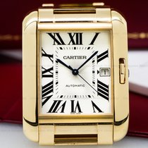 Cartier W5310002 Tank Anglaise Large Automatic 18k Rose Gold...