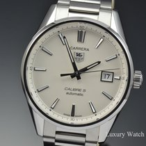 TAG Heuer Carrera Calibre 5 Automatic SS Watch WAR211B