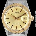 Rolex 1625 Datejust Turn-o-graph Steel Gold